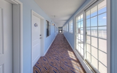 Top floor of Atlantic View Hotel in Dewey Beach Oceanview Hotel