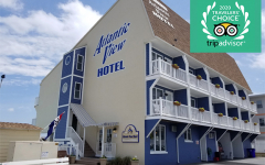 Atlantic View Hotel in Dewey Beach, Delaware, wins coveted travelers choice tripadvisor award