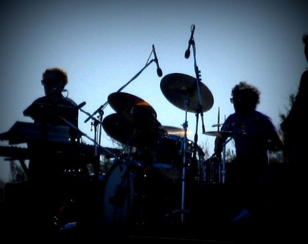 live band silhouettes